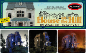 HOUSE ON THE HILL (Haunted House!) - Model Kit
