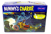 MUMMY'S CHARIOT (Glow Version!) - Model Kit