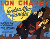 LONDON AFTER MIDNIGHT (1927/Carry) - 11X14 Reproduction