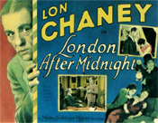 LONDON AFTER MIDNIGHT (Detective) - 11X14 Lobby Card