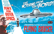 PLAN 9 FROM OUTER SPACE FLYING SAUCER - Model Kit