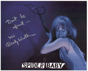 BEVERLY WASHBURN (Pitchfork) - 8X10 Autographed Photo