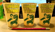 SWAMP THING WAX PROMOTIONAL CUPS (DC Comics) - Collectibles