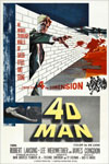 4-D MAN (1959) - 11X17 Poster Reproduction