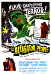 ALLIGATOR PEOPLE (1959) - 11X17 Poster Reproduction