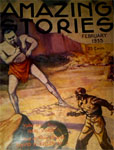 AMAZING STORIES (February 1935) - Pulp Magazine