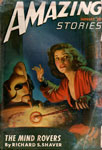 AMAZING STORIES (January 1947) - Pulp Magazine