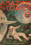 AMAZING STORIES Vol. 8 No. 7 - Pulp Magazine