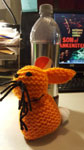 MONSTER BASH POOKA - Handmade Collectible (Orange Version)
