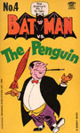 BATMAN VS. THE PENGUIN (Comic Reprints/1966) - Paperback