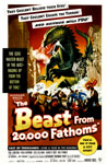 BEAST FROM 20,000 FATHOMS (1953) - 11X17 Poster Reproduction