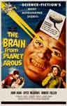 BRAIN FROM PLANET AROUS (1958) - 11X17 Poster Reproduction