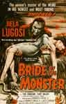 BRIDE OF THE MONSTER - 11X17 Poster Reproduction