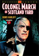 COLONEL MARCH OF SCOTLAND YARD Vol. 2 - Used DVD