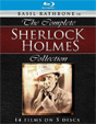 SHERLOCK HOLMES COMPLETE COLLECTION (Rathbone) - Blu-Ray Set