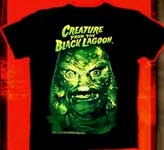 CREATURE FROM THE BLACK LAGOON (Big Face) - T-Shirt