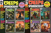 CREEPS ANNUAL DOUBLE PLAY (2019 & 2020) - Two Magazines!