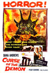 CURSE OF THE DEMON (1957) - 11X17 Poster Reproduction
