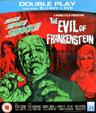 EVIL OF FRANKENSTEIN (1964/Region 2) - Used Blu-Ray & DVD