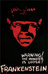 FRANKENSTEIN (1931/Monster is Loose) - 11X17 Poster Reproduction