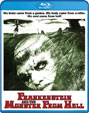 FRANKENSTEIN AND THE MONSTER FROM HELL (1973) - Blu-Ray