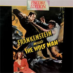 FRANKENSTEIN MEETS THE WOLF MAN (1943) - Laser Disc