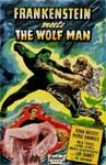 FRANKENSTEIN MEETS THE WOLF MAN (Real Art) - 11X17 Poster Repro