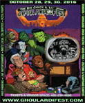 GHOULARDIFEST 2016 (Color Flyer-Classic Monsters) - Collectible