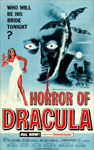 HORROR OF DRACULA (1958/Blue Style) - 11X17 Poster Reproduction