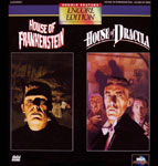 HOUSE OF FRANKENSTEIN/HOUSE OF DRACULA - Laser Disc Dbl. Set