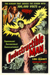INDESTRUCTIBLE MAN (1959) - 11X17 Poster Reproduction