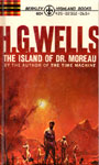 ISLAND OF DR. MOREAU by H.G. Wells - Small Hardback