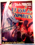 KING OF THE ZOMBIES (1941) - Belgium Poster