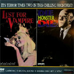 LUST FOR A VAMPIRE (1971)/DIE MONSTER DIE (1965) - Laser