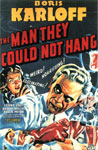 MAN THEY COULD NOT HANG (1939) 11X17 Poster Reproduction