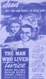MAN WHO LIVED TWICE, THE (1936) - VHS