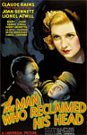 MAN WHO RECLAIMED HIS HEAD (1934) - 11X17 Poster Reproduction