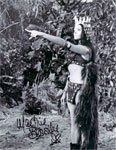 MARTINE BESWICKE (Prehistoric Women-Point!) - Autographed Photo