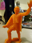 MARX PHANTOM (Original 1960s, Orange) - Plastic Figure