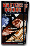 MASTERS OF HORROR (Slip Case Box Set) - Used VHS Set