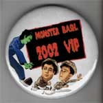 MONSTER BASH 2002 - Metal Button