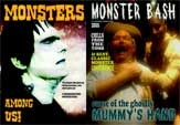 MONSTER BASH CREATURE DOUBLE FEATURE - 2 DVDs
