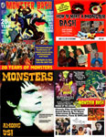 MONSTER BASH POWER PACK (Four All Region DVD Set) - Bundle Set
