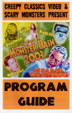 MONSTER BASH PROGRAM GUIDE 2003 - Collectible