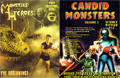MONSTERS & HEROES & CANDID....MONSTERS! - Book Bundle