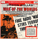 ORSON WELLES' WAR OF THE WORLDS - Used Record Album