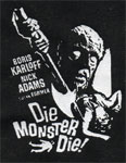 DIE MONSTER DIE - Denim Patch