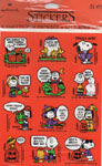 PEANUTS HALLOWEEN STICKERS (8 Sheets Sealed!) - Collectible