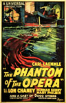 PHANTOM OF THE OPERA (1925/Water Scene) - 11X17 Poster Repro