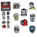 PUFFY MONSTER STICKERS - Set of Vinyl Stickers
